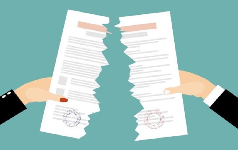 فسخ قرارداد اجاره قبل از پایان یافتن مدت آن